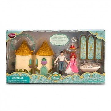 Princess Ariel Mini Castle Play Set