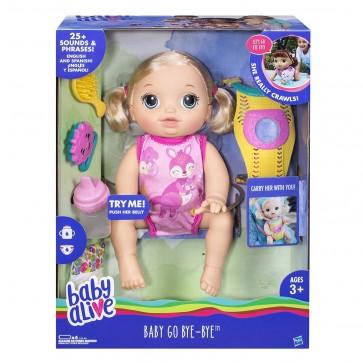 Baby Alive - Baby Go Bye Bye Doll