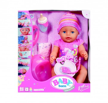 Baby Born doll Interactive Girl