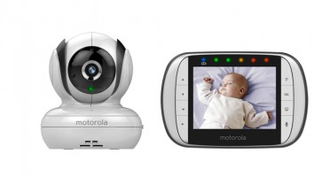 Motorola 3.5 Inch Video Baby Monitor MBP36S