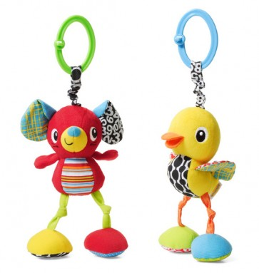 Rattling Jittery Pal Mouse Duck Baby Infantino