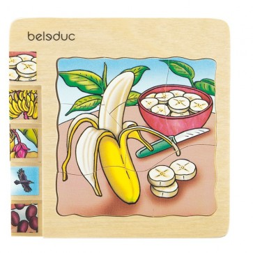 Banana Layer Puzzle Beleduc