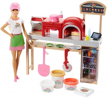 Barbie doll Pizza Chef Playset
