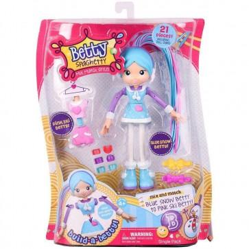 Blue Snow Betty Spaghetty  doll