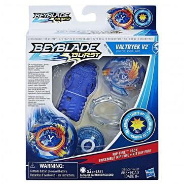 Beyblade Burst Rip Fire Pack Valtryek V2