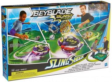 BEYBLADE BURST TURBO collision battle set