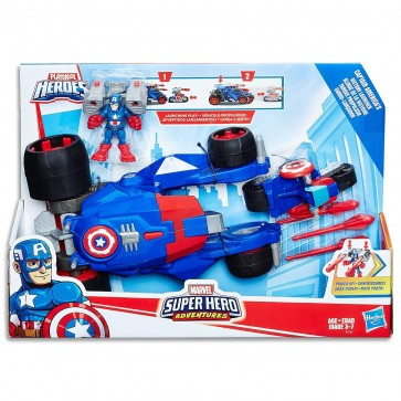 captain america launcher weapon