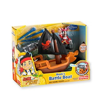Captain Hook pirates boat