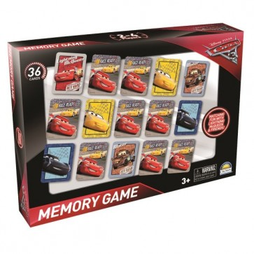 Disney Cars 3 Memory Card Game