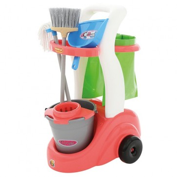 Cleaning Trolley pretend play toy