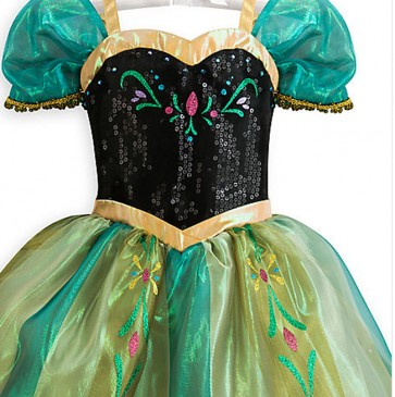 frozen kids costume princess anna