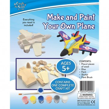 Make And Paint Your Own Wooden Plane