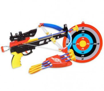Crossbow Set Toy with Target
