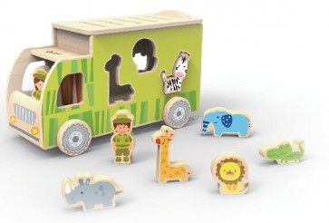 Animal Sorting Truck by Classic World
