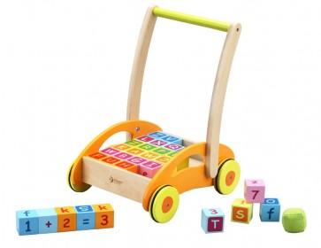 Baby Walker Learning Blocks Classic World