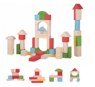 Junior Block Classic World wooden toy