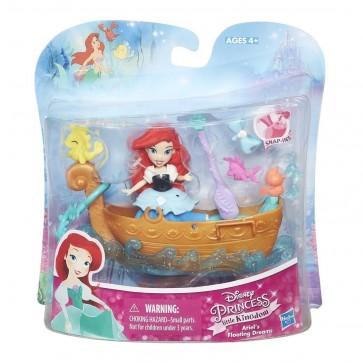 DISNEY PRINCESS Little Kingdom ariel Doll Boat