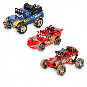Lightning McQueen Off Road Die Cast Set