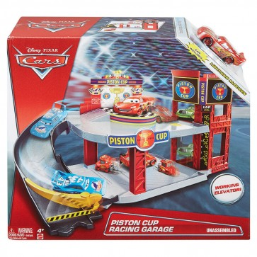 cars 3 multi level garage playset