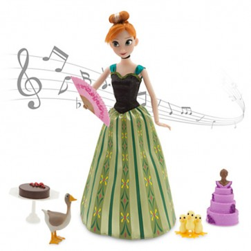 anna music singing doll