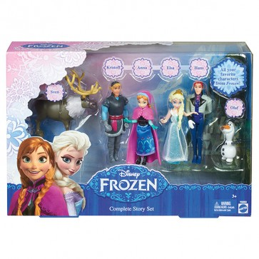 Disney Frozen Figure Doll Complete Story Playset