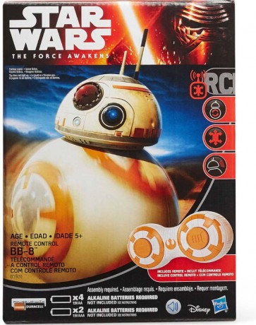 Star Wars The Force Awakens Remote Control Droid BB-8