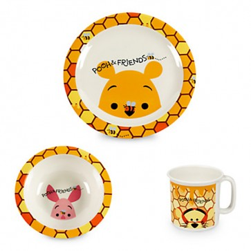 disney Mealtime Set plate, bowl, and cup