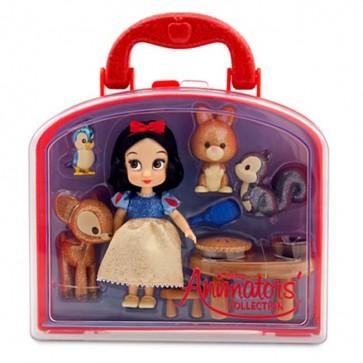 Snow White Mini Doll Play Set