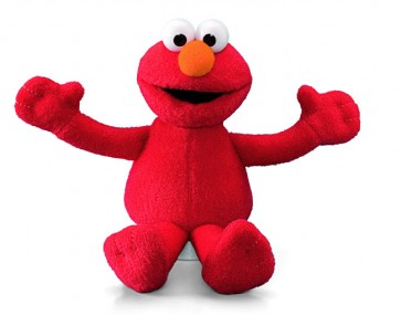 elmo mini beanie plush