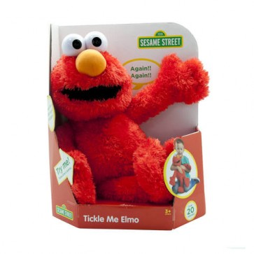 Sesame Street Tickle giggle Me Elmo Plush Toy