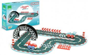 Wooden Car Race Track vilac