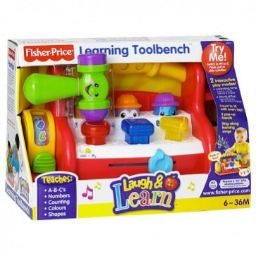 Fisher Price Laugh and Learn Learning Toolbench