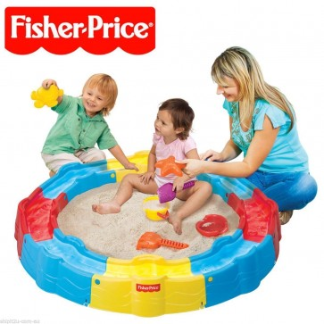 Fisher Price Build n Play Sand box water
