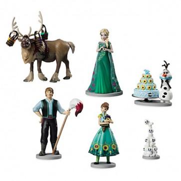 disney Frozen Fever Figurines cake topper