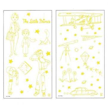 Glow in the dark Stickers The Little Prince
