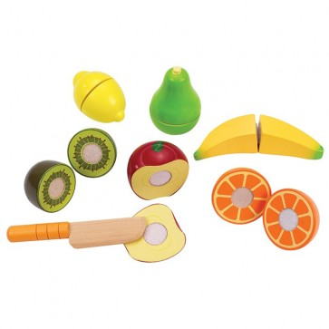 hape fruit wood toy
