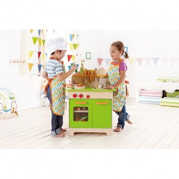 hape kids wooden kitchen