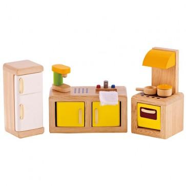 hape kitchen doll house toy
