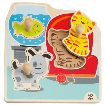 Hape Pets Knob Puzzle Toy