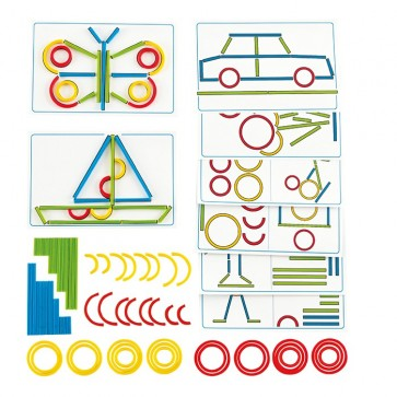 Hape Rings and Sticks Toy