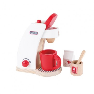 Wooden Coffee Maker Toy