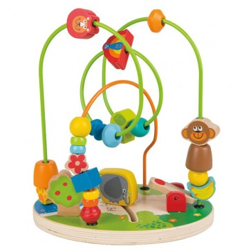 Hape Zoo animal time Fun Bead Maze