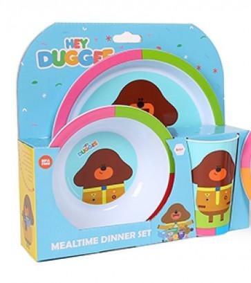 Hey Duggee kids mealtime Set
