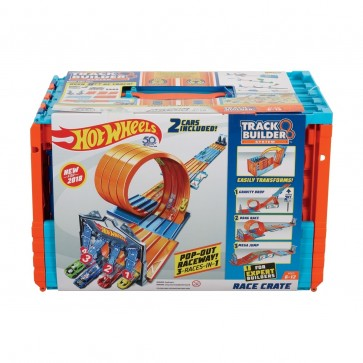 Hot Wheels Track Builder Racing Crate