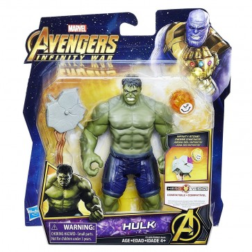 "Marvel Avengers Infinity War Hulk Figure 6"""