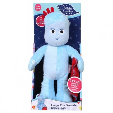 In the Night Garden Large Igglepiggle Fun Sounds Soft Toy