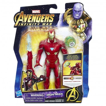 Iron Man Figure Infinity Stone