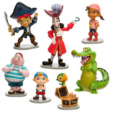 Jake the Pirate Figurines Play Set