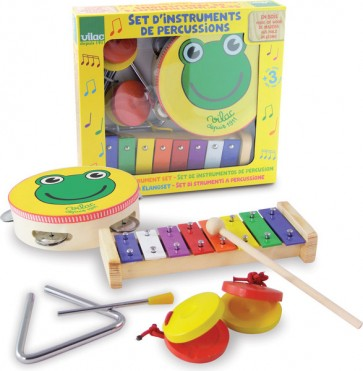 Toy Kids Music Instruments Vilac