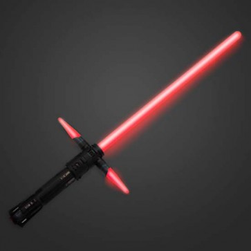 kylo ren lightsaber light sound